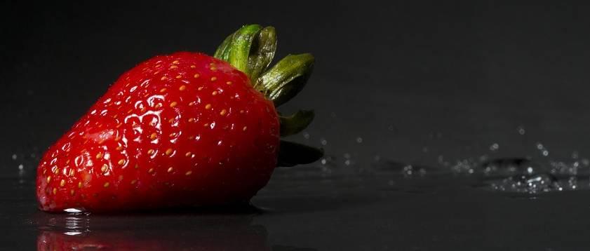 Zdrowa truskawka